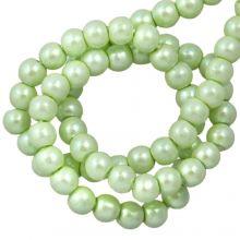 DQ Glass Pearls (2 mm) Mint Green (150 pcs)
