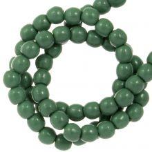 DQ Glass Pearls (2 mm) Hartford Green (150 pcs)