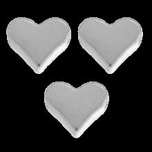 Metal Beads Heart (6 mm) Antique Silver (40 pcs)