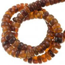 Bone Beads (6 x 4 mm) Golden (115 pcs)