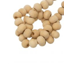 Natural Wood Beads (6 x 5 mm) 200 pcs