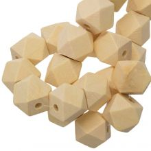 Natural Wood Beads (16 mm) 25 pcs