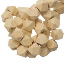 Natural Wood Beads Cube (12 mm) 25 pcs