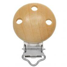 Wooden Pacifier Clip (28 mm) 2 pcs