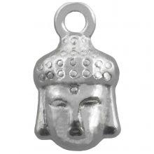 Charm Buddha (14 x 8 mm) Antique Silver (25 pcs)
