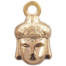 Charm Buddha (14 x 8 mm) Gold (25 pcs)