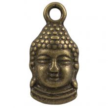 Charm Buddha (15 x 7 mm) Bronze (25 pcs)