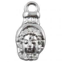 Charm Buddha (18 x 8 mm) Antique Silver (25 pcs)