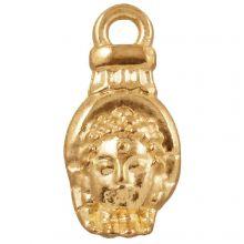 Charm Buddha (18 x 8 mm) Gold (25 pcs)