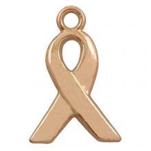 Charm Ribbon (14 x 6 mm) Gold (25 pcs)