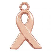 Charm Ribbon (14 x 6 mm) Rose Gold (25 pcs)