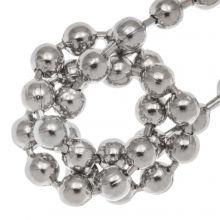 ball chain silver
