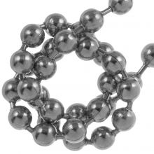 Stainless Steel Ball Chain (3,2 mm) Antique Silver (2,5 Meter)