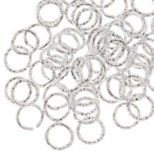 Jump Rings (6 mm) Silver (100 pcs) Thickness 1 mm
