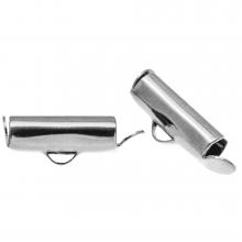 Endcaps (13 mm) Antique Silver (10 pcs)