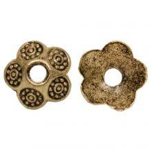 Beadcap (9 x 3 mm) Gold (30 pcs)