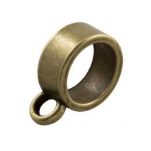 Connector 1 Eyelet (hole size 7 mm) Bronze (10 pcs)
