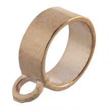 Connector 1 Eyelet (hole size 10 mm) Gold (10 pcs)