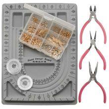 Starter Kits Jewelry Making gold