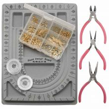 Starter Kit Jewelry Making (Stainless Steel) Gold