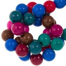 Bead Mix - Acrylic Beads (10 mm) Mix Color (95 pcs)