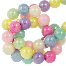 Acrylic Beads (8 mm) Mix AB Color (100 pcs)