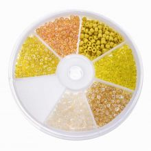 Bead Kit - Seed Beads (3 mm) 'Mix Color Yellow'