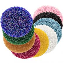 Bead Kit - Seed beads (2 mm / 9 x 50 grams) 'Mix Color'