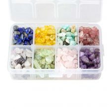 Bead Kit - Gemstone Chips (3 - 8 mm) Mix Color (200 grams)