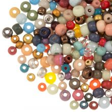 Bead Mix - Seed Beads (2 - 3 - 4 mm) Mix Color (50 gram)