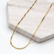 Stainless Steel Chain with Small Links (50 cm) Gold (1 piece)
