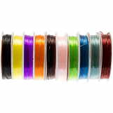 Elastic Thread (0.8 mm) Mix Color (10 x 8 Meter)