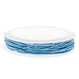 Colored Elastic Thread (1 mm) Light Blue (9,5 Meter)