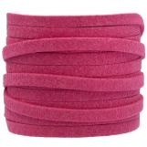 Faux Suede Cord (5 mm) Hot Pink (5 Meter)
