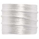 Satin Cord (1.5 mm) White (15 Meter)