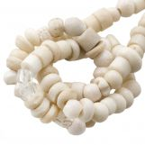 Bead Mix - Bone Beads (4 x 2 mm) Natural (150 pcs)