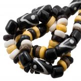 Bead Mix - Bone Beads (7 x 3 mm) Native (45 pcs)