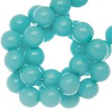 DQ Glass Beads (8 mm) Sky Blue (75 pcs)