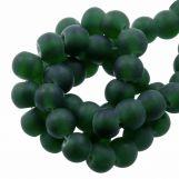 Glass Beads Matt (6 - 7 mm) Pine (35 pcs)