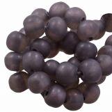 Resin Beads Mat (8 - 9 mm) Grape (20 pcs)