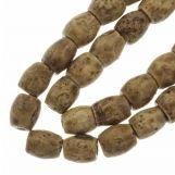 Ceramic Beads (11 x 10 mm) Tan (18 pcs)