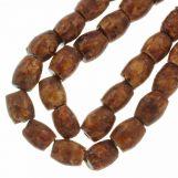 Ceramic Beads (11 x 10 mm) Sienna (18 pcs)