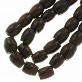 Ceramic Beads (11 x 10 mm) Chocolate (18 pcs)