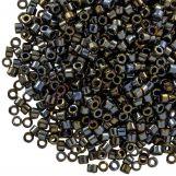 Miyuki Delica (11/0 mm) Metallic Black Luster (10 Grams)