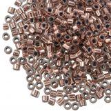 Miyuki Delica (11/0 mm) Copper Lined Crystal (10 Grams)