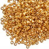 Miyuki Delica (11/0 mm) 24kt Gold Plated (10 Grams)