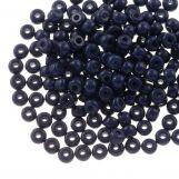 DQ Seed beads (4 mm) Indigo Blue (25 Gram / 350 pcs)