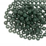 DQ Seed beads (4 mm) Green Teal (25 Gram / 350 pcs)