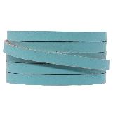 DQ Flat Leather (5 x 2 mm) Sapphire Metallic (1 Meter)