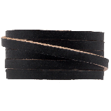 DQ Flat Leather (5 x 2 mm) Black (1 Meter)